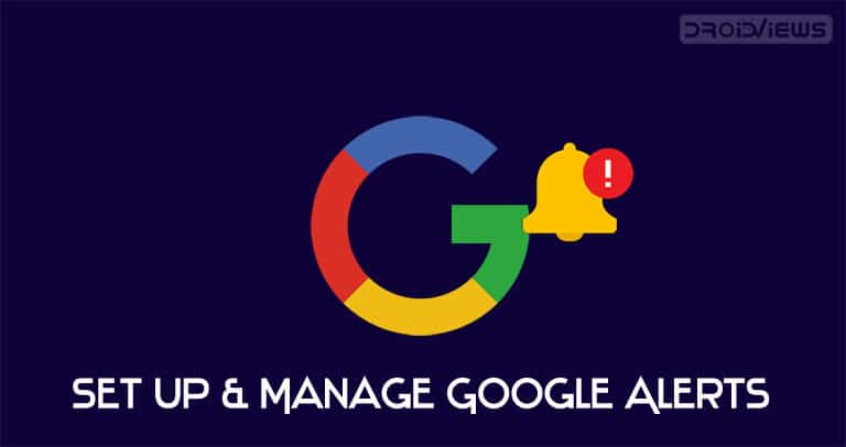 google alerts customization