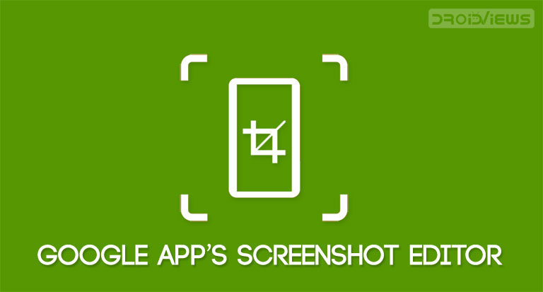 google app screenshot editor