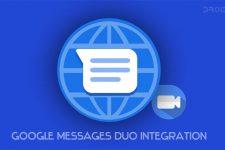 google messages google duo integration