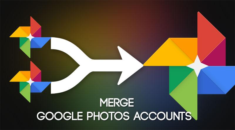 Merge Google Photos Accounts