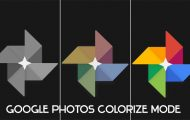 google photos colorize mode