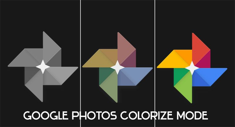 google photos colorize mode