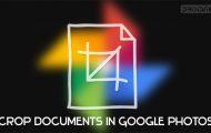 google photos crop documents