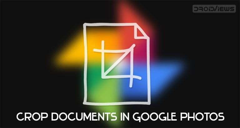 google photos crop documents