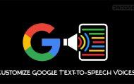 google text to speech voices