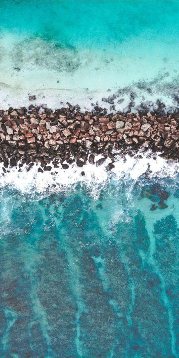 sea pebbles wallpaper