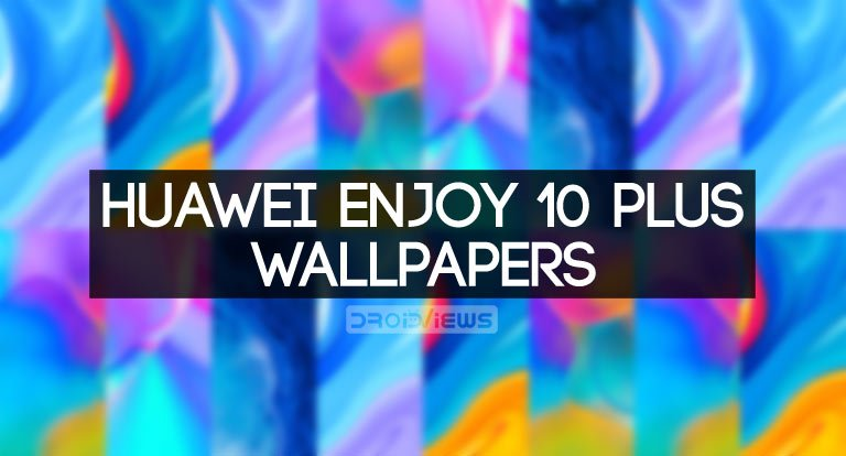 huawe enjoy 10 plus stock wallpapers