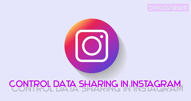 instagram data sharing control
