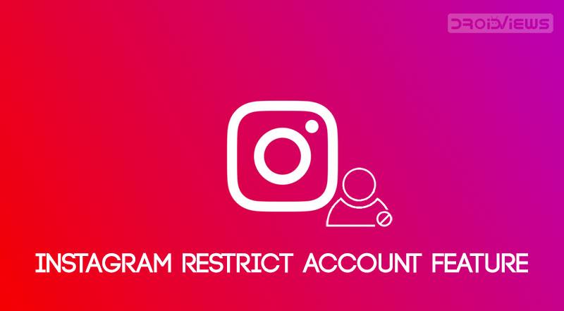 instagram restrict account