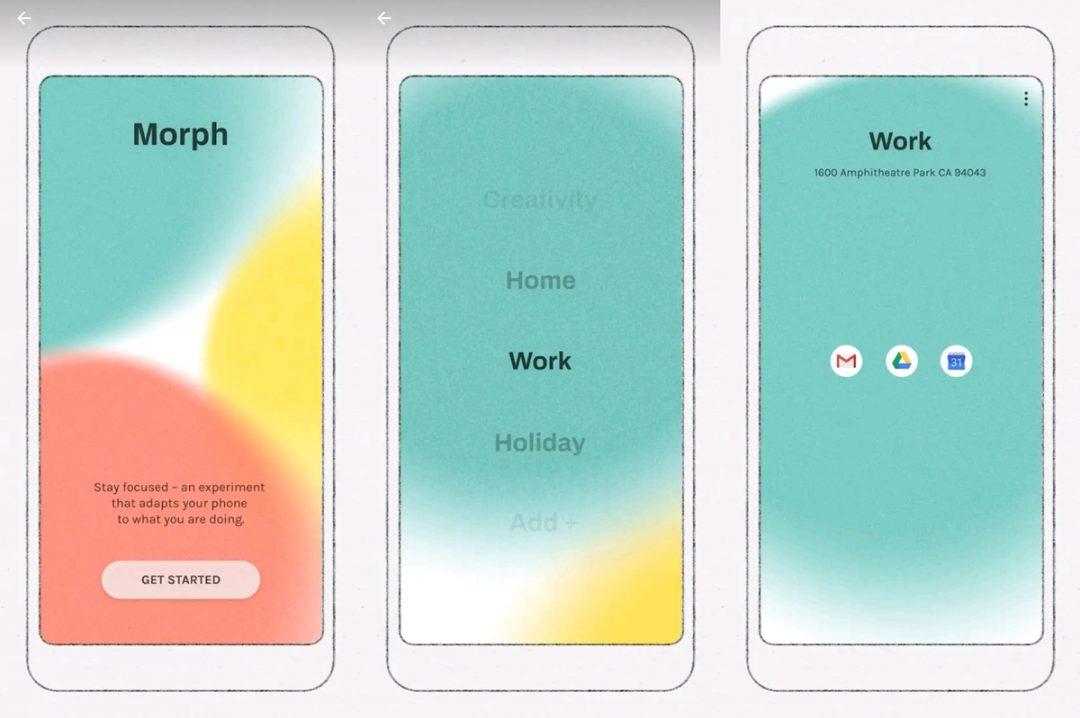 morph digital wellbeing