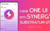 one ui synergy theme