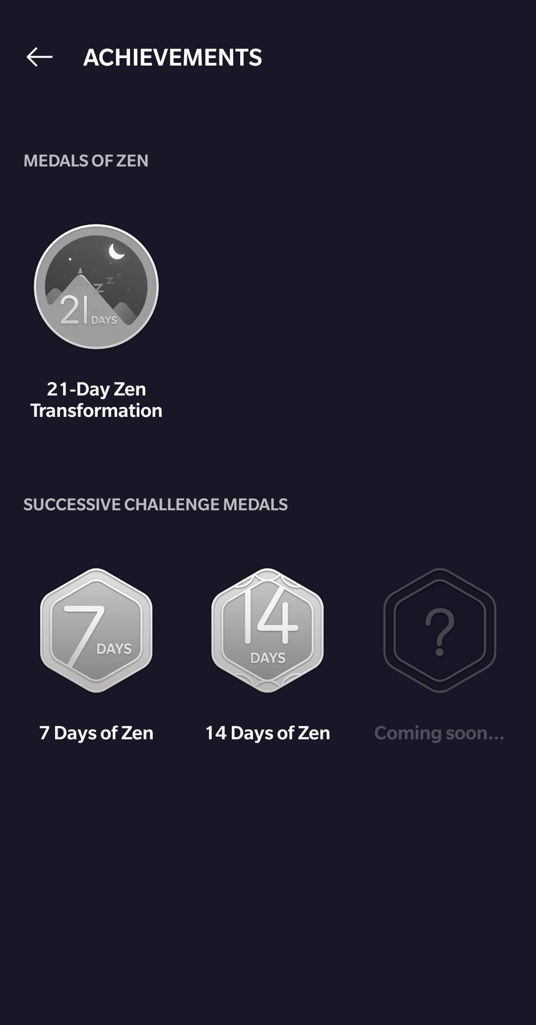 oneplus zen medals