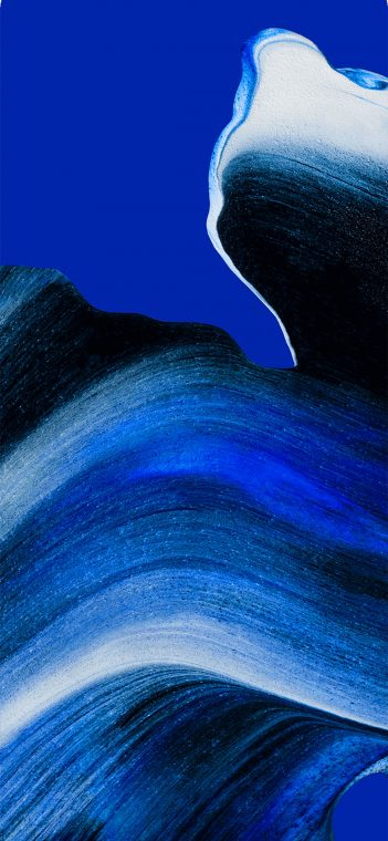 oppo reno ace blue paint wallpaper