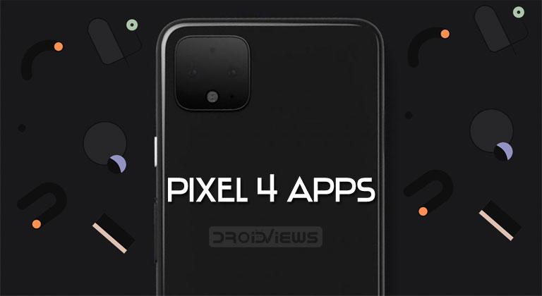 pixel 4 apps