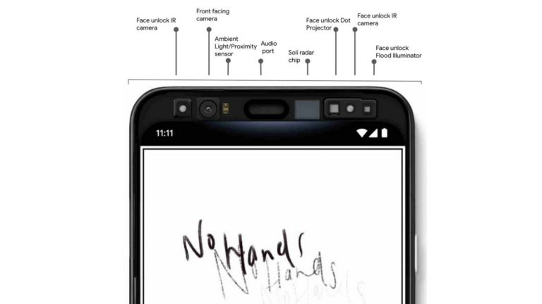 outdated design of pixel 4