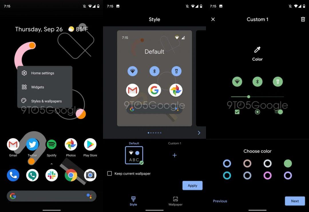 pixel 4 themes app