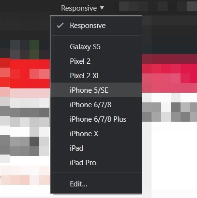 screenshot chrome responsive