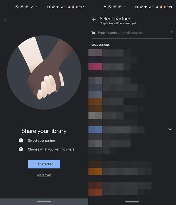 select partner