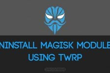 uninstall magisk module twrp
