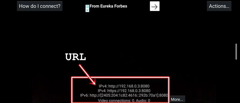 url webcam