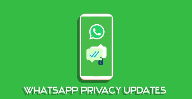 whatsapp privacy updates