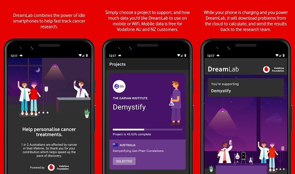 DreamLab android app