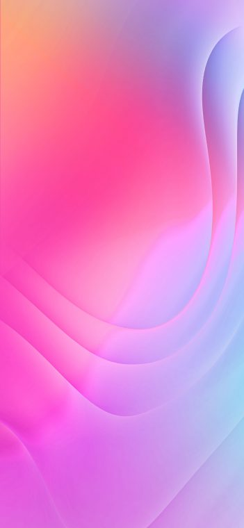 lg g7 fit pink wave wallpaper