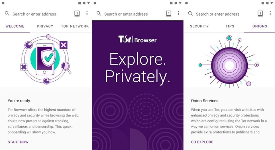 Tor Browser features