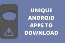 unique android apps