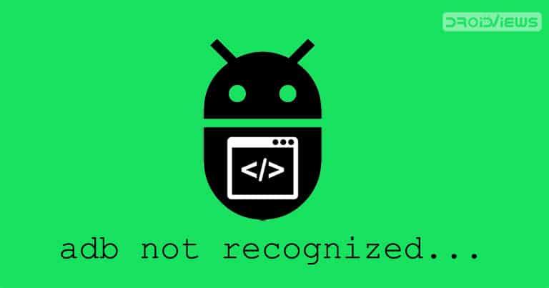 adb not recognized