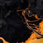 color os 7 yellow lava wallpaper
