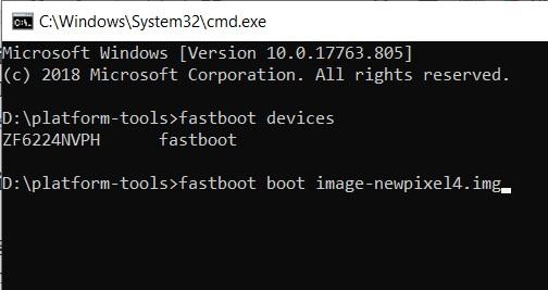 fix bootloop fastboot
