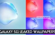 galaxy s11 leaked wallpapers