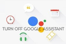 turn off google assistant