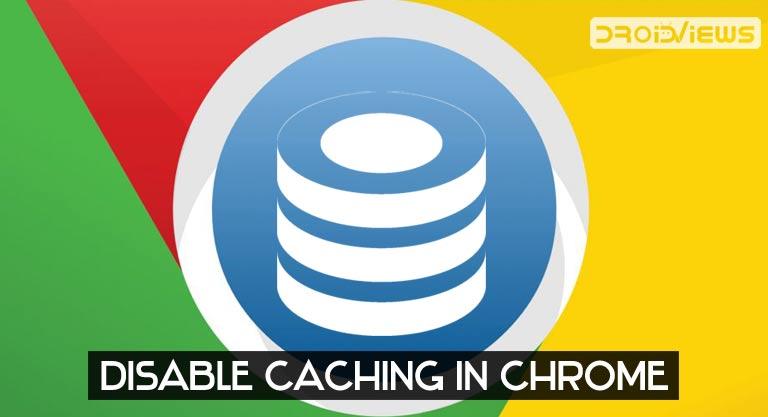 disable chrome cache