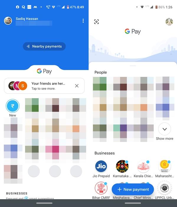 google pay home