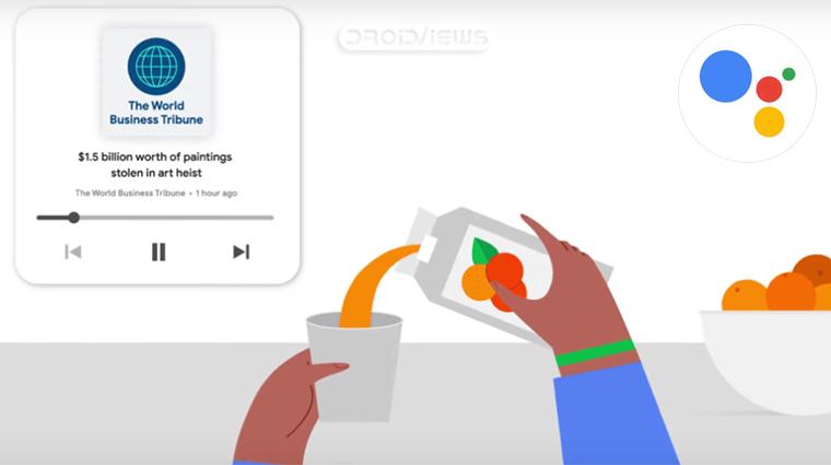 Google Assistant Read News