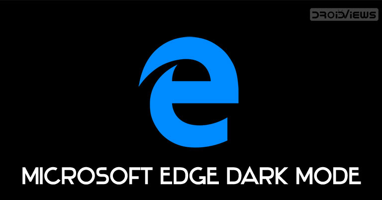 microsoft edge dark mode