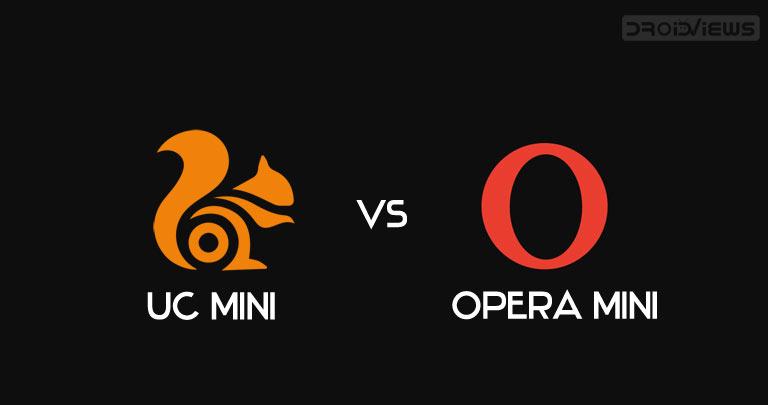 uc mini opera mini browser