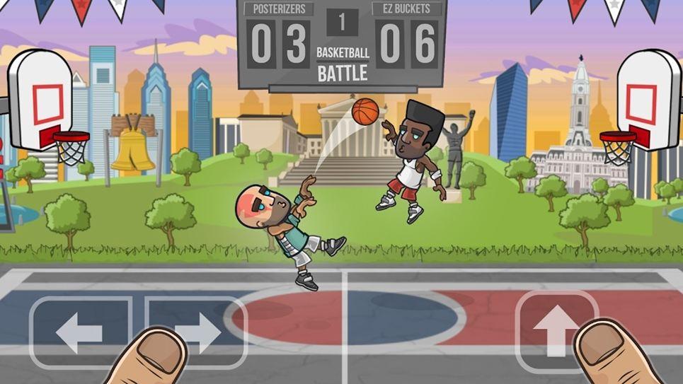 Basketball Battle gameplay
