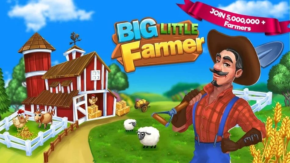 Big Little Farmer game