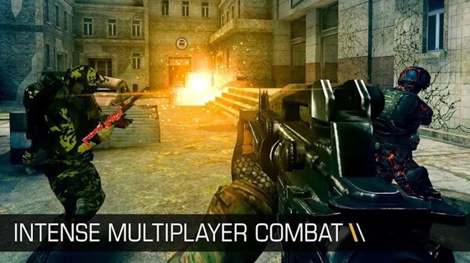 Bullet Force 120fps game