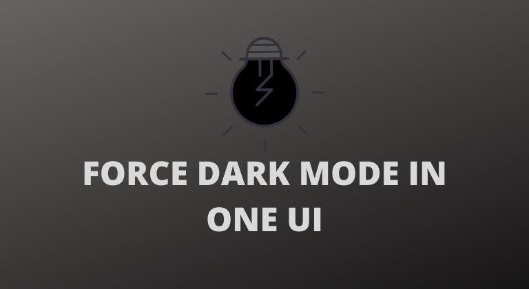 one ui 2 dark mode