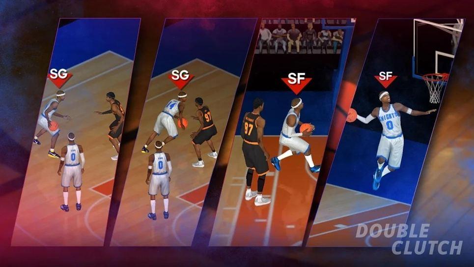 DoubleClutch Basketball games