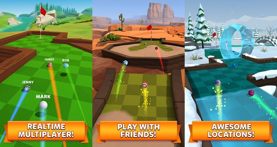 Golf Battle android game