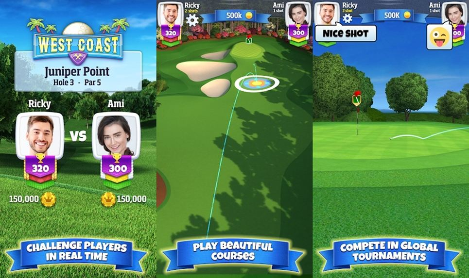 Golf clash golf game