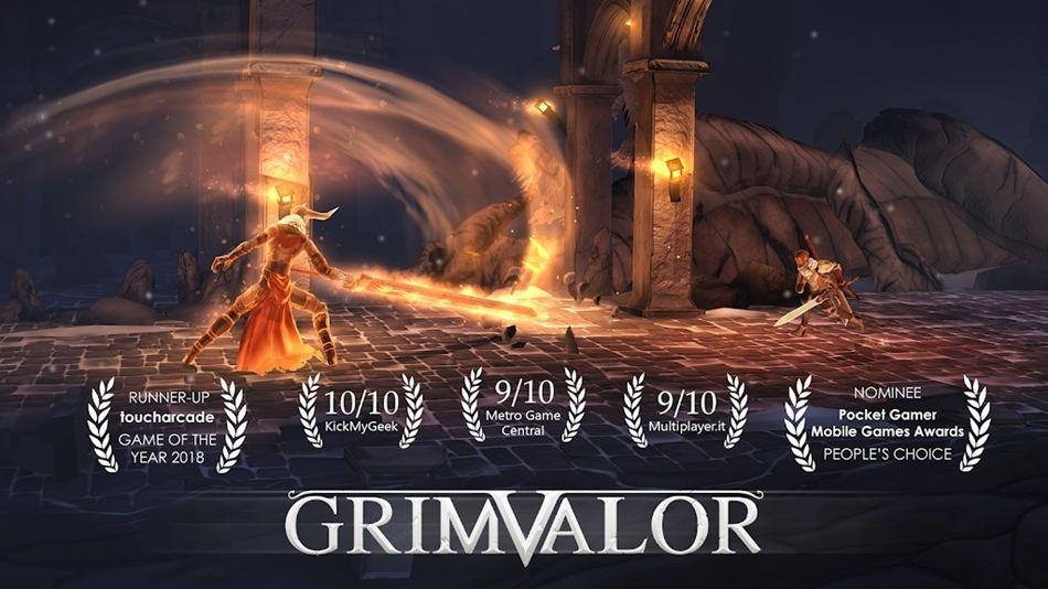 Grimvalor 120Hz game android