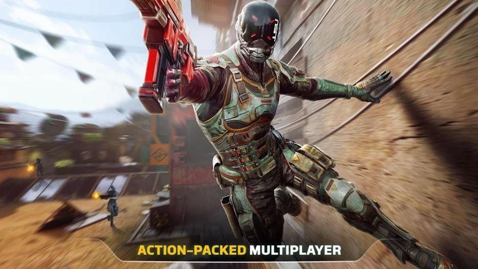 Modern Combat Versus 120fps game