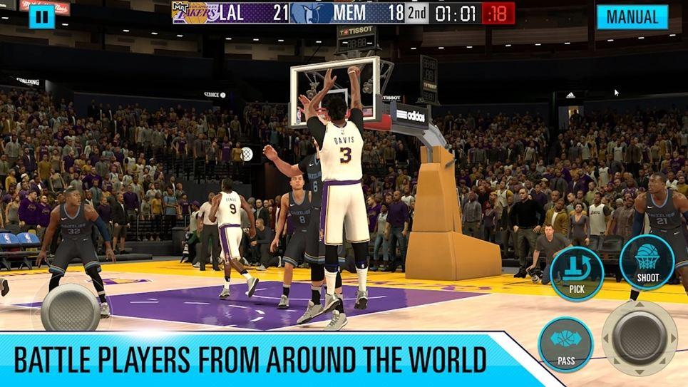 NBA 2K basketball games