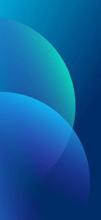 oppo f11 pro blue wallpaper